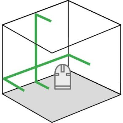 Stanley FATMAX® FCL-G Groene Kruislijnlaser set