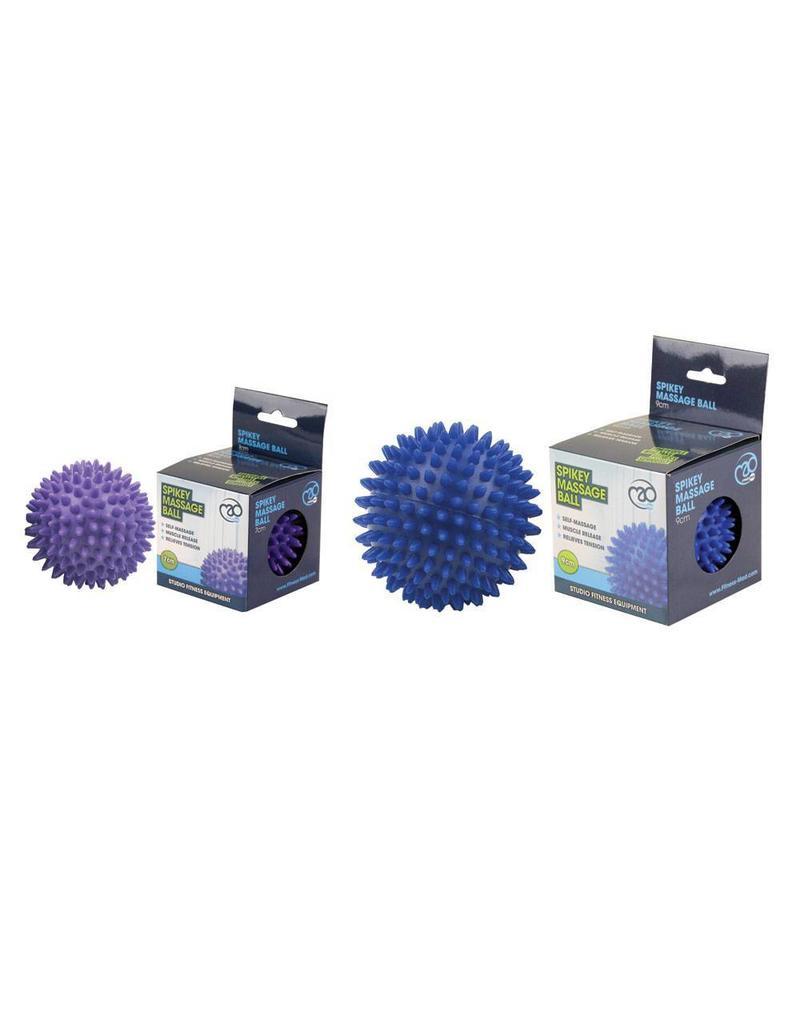 FITNESS MAD Spikey Massage Ball Large 9cm blue