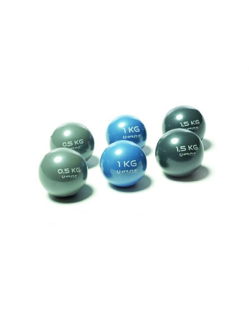 O'LIVE FITNESS O'LIVE TONO BALL 1 kg Blue