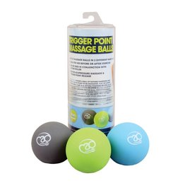 FITNESS MAD Set de 3 balles Trigger Point Massage