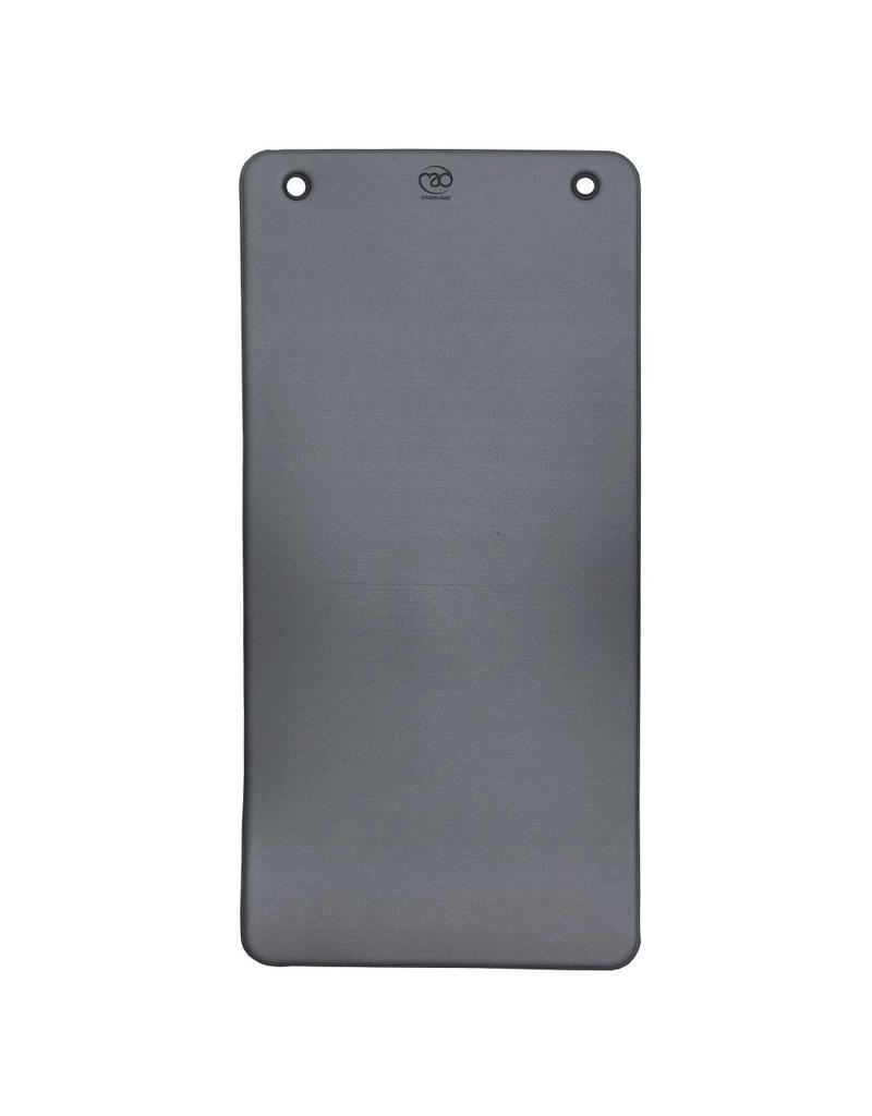 FITNESS MAD Tapis Club avec oeillets 100 x 50 x 0,95 cm anthracite