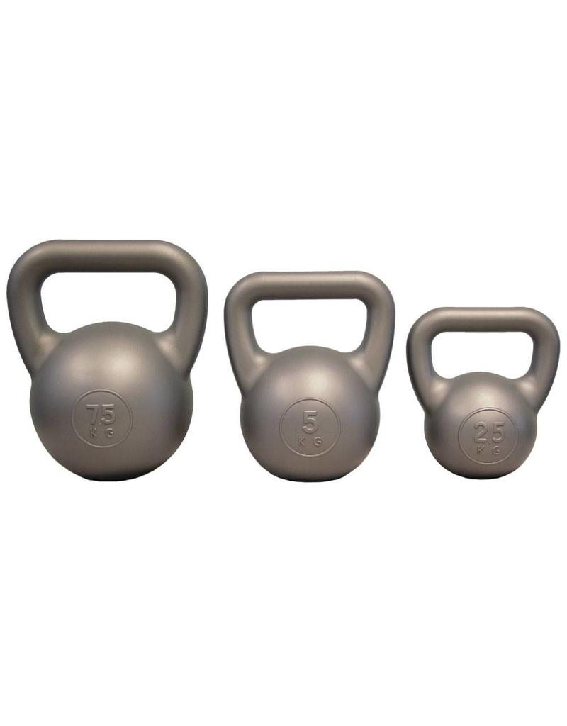 FITNESS MAD Kettle Bell PVC 2.5Kg Zilver