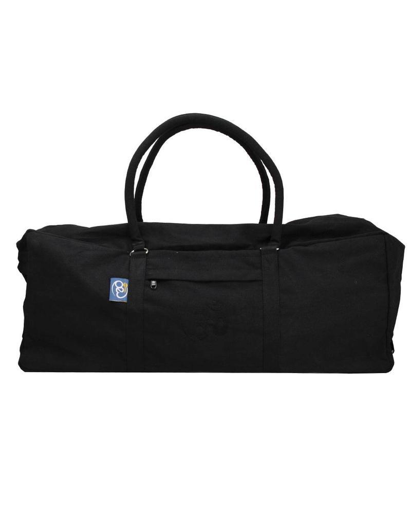 FITNESS MAD Kit Bag 62x22x22 cm 100% katoen Iyengar yoga Zwart