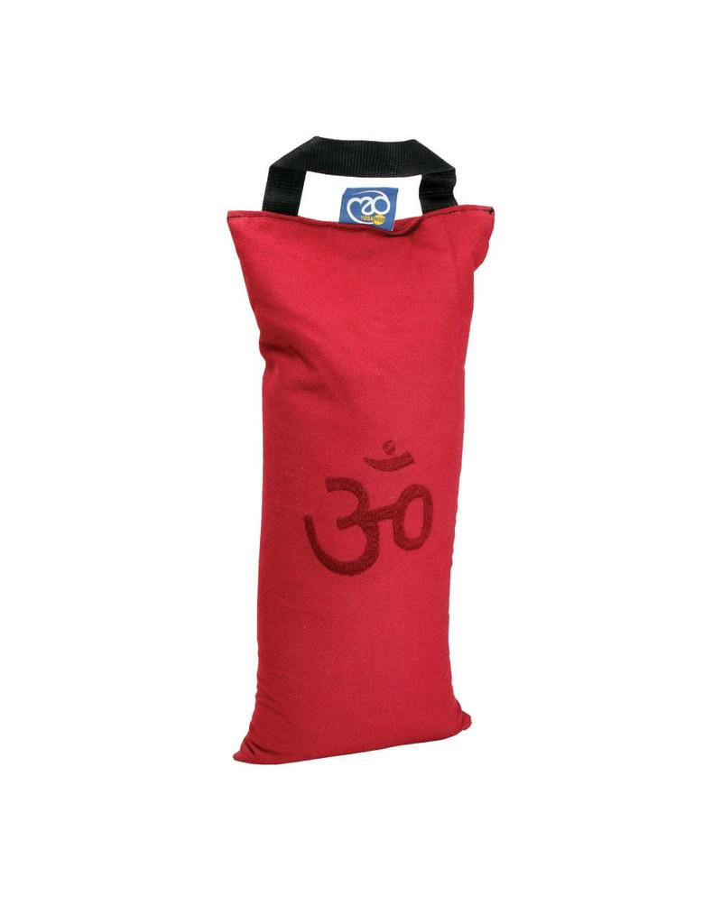FITNESS MAD Sand Bag 42x18 cm 5kg katoen Bordeaux Rood