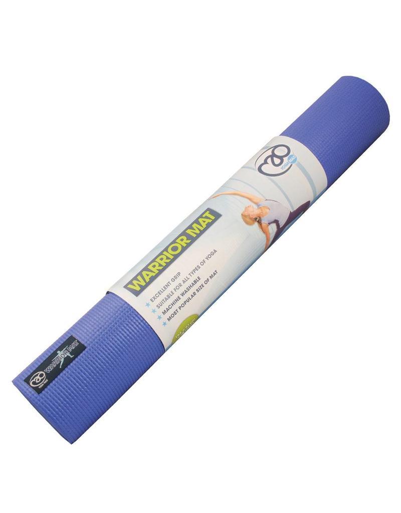 FITNESS MAD Tapis de Yoga Warrior 4mm Bleu 183 x 61 x 0.4 cm (1.1kg)