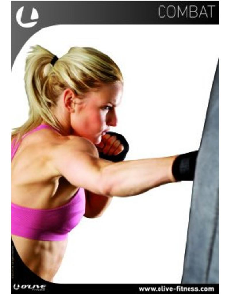 O'LIVE FITNESS O'LIVE COMBAT TRAINING ZONE POSTER