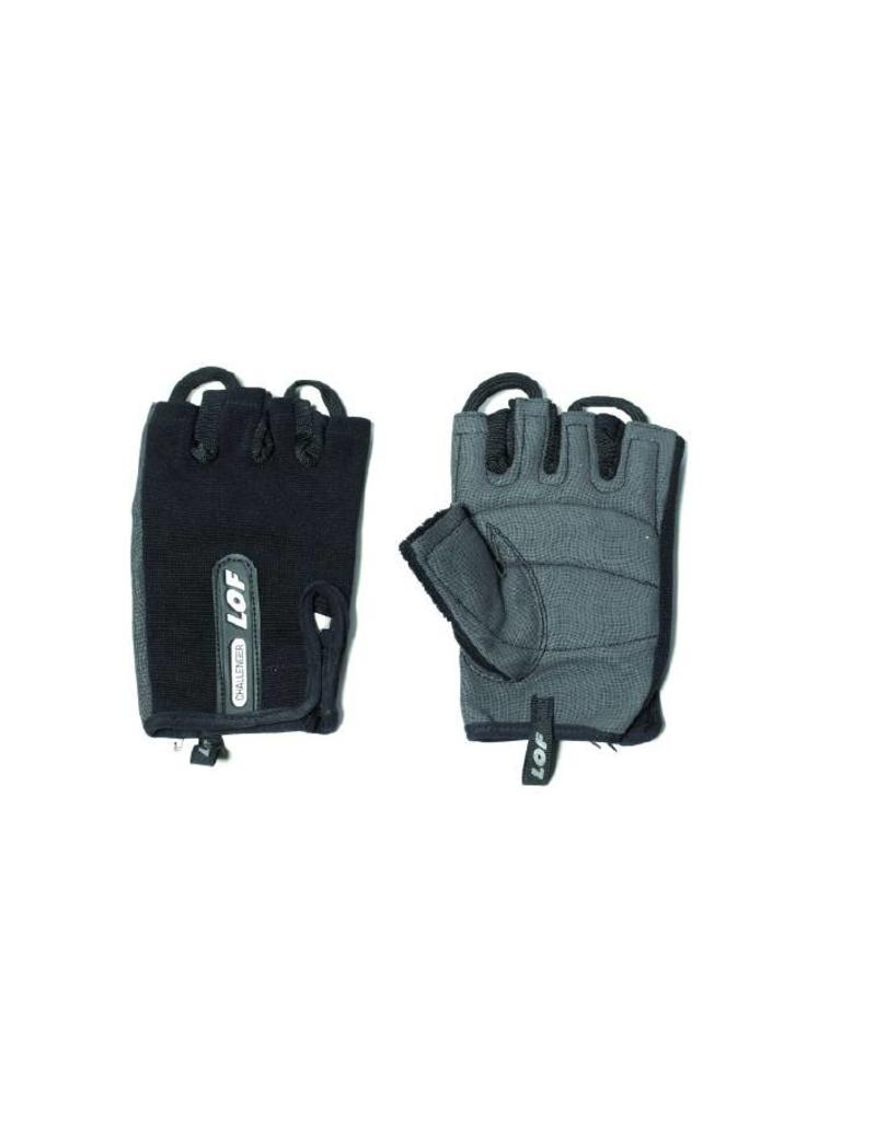 LOF LOF CHALLENGER WEIGHT LIFTING GLOVES Black - Size M