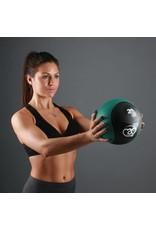 FITNESS MAD Medicine Ball 4 Kg PVC Waterproof Noir Vert