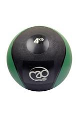 FITNESS MAD Medicine Ball 4 Kg PVC Waterproof Zwart Groen