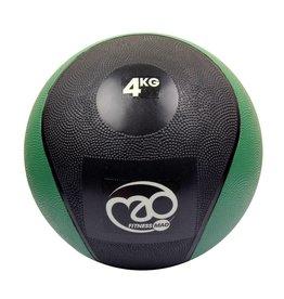 FITNESS MAD Medicine Ball 4 Kg PVC Waterproof Noir