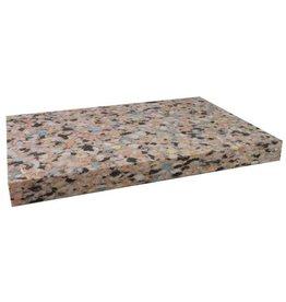 FITNESS MAD Chip foam Yoga block hard 25 mm (1 inch) 30.5 x 20.5 cm half yoga blok