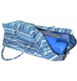 FITNESS MAD Yoga Kit Bag 62x22x22 cm 100% cotton Blue