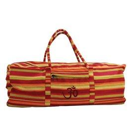 FITNESS MAD Yoga Kit Bag 62x22x22 cm 100% cotton Red