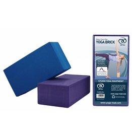 FITNESS MAD High density Yoga Brick 220 x 110 x 709 mm EVA Blue