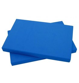 FITNESS MAD Demi Bloc de Yoga EVA 305 x 205 x 25 mm Bleu