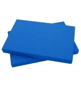 FITNESS MAD Half Yoga Block 305 x 205 x 25 mm Blauw