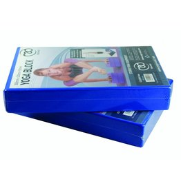 FITNESS MAD Bloc de Yoga EVA 305 x 205 x 50 mm Bleu