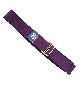 FITNESS MAD Lightweight Yoga Belt 2m Purple