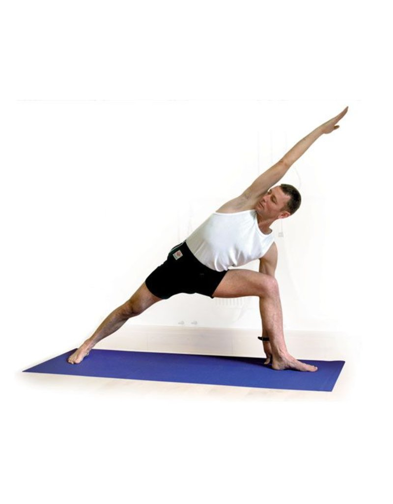 FITNESS MAD Studio Pro Yoga Mat 183 x 60 x 0.45cm (1.6kg) Oeko-tex huidvriendelijk high density yoga mat made in Germany phthalate free brandvertragend Grijs