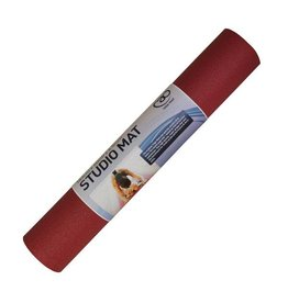 FITNESS MAD Studio Pro Tapis de Yoga Studio Standard 4,5mm Rouge 4.5 mm 183 x 60 cm (1.6kg)