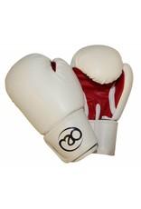 FITNESS MAD Gant de sparring Premium Leather Pro 8oz Noir Rose