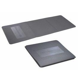 FITNESS MAD Studio Pro Stretch 3 Fold Aerobic Mat 134 x 50 x 0.9 cm (0.6kg) foldable grey