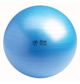 FITNESS MAD 300Kg anti-burst Swiss Gym Ball 55cm (1.1kg) light blue