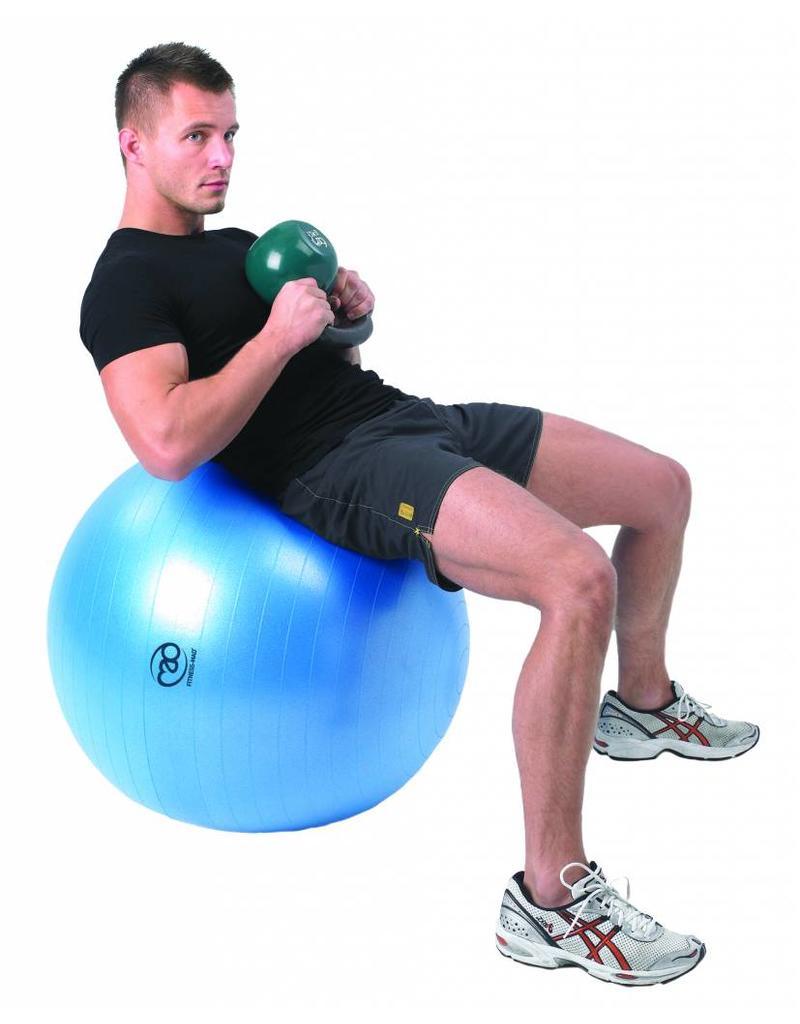 FITNESS MAD 300Kg anti-burst Swiss Gym Ball 65cm (1.35kg) light blue