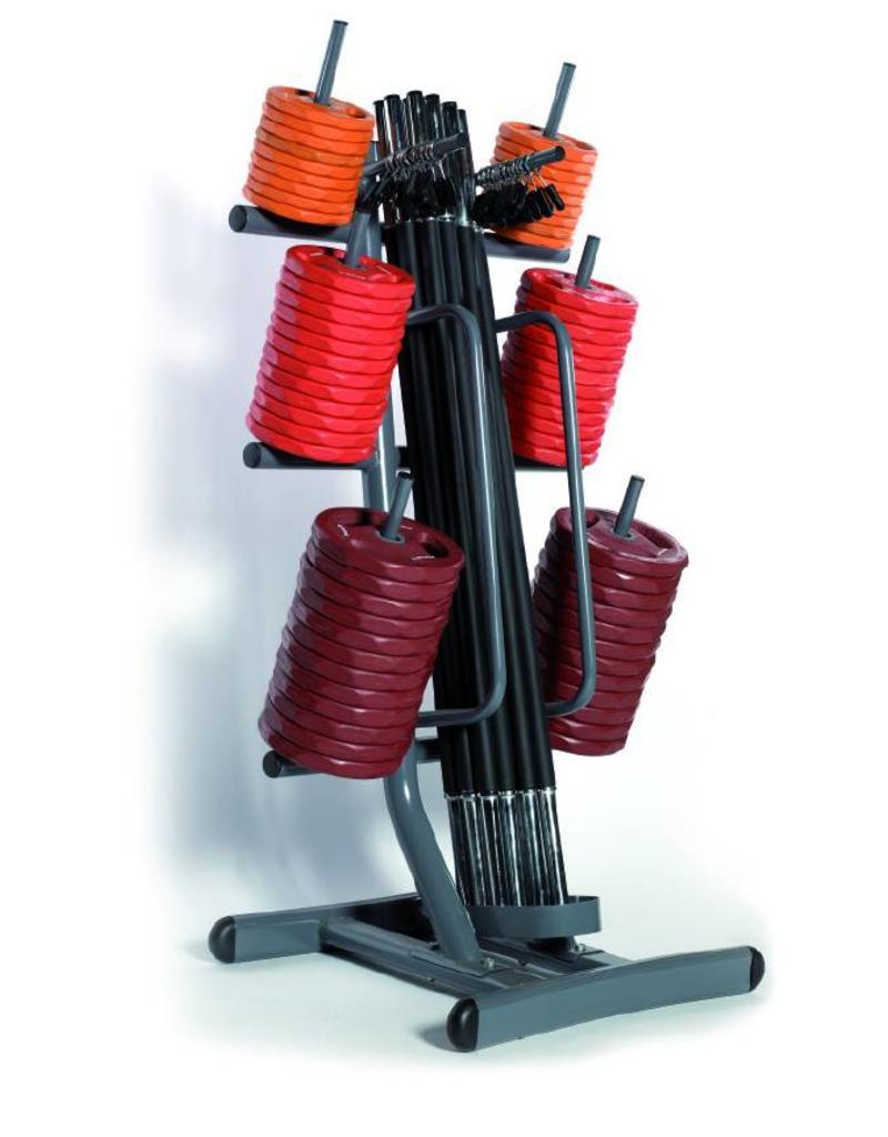 O'LIVE FITNESS O'LIVE POWER DISK KIT A 12 Complete Sets + Rack MU06000