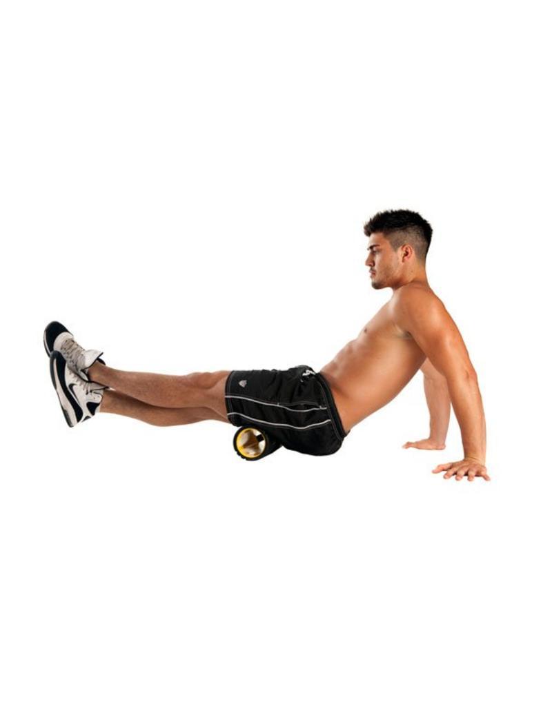 FITNESS MAD Foam Roller Vari-Massage 12x30.5 cm ABS EVA Noir
