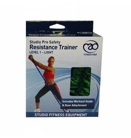 FITNESS MAD Studio Pro Safety Resistance Tube Level 1 Light 120 cm latex Green