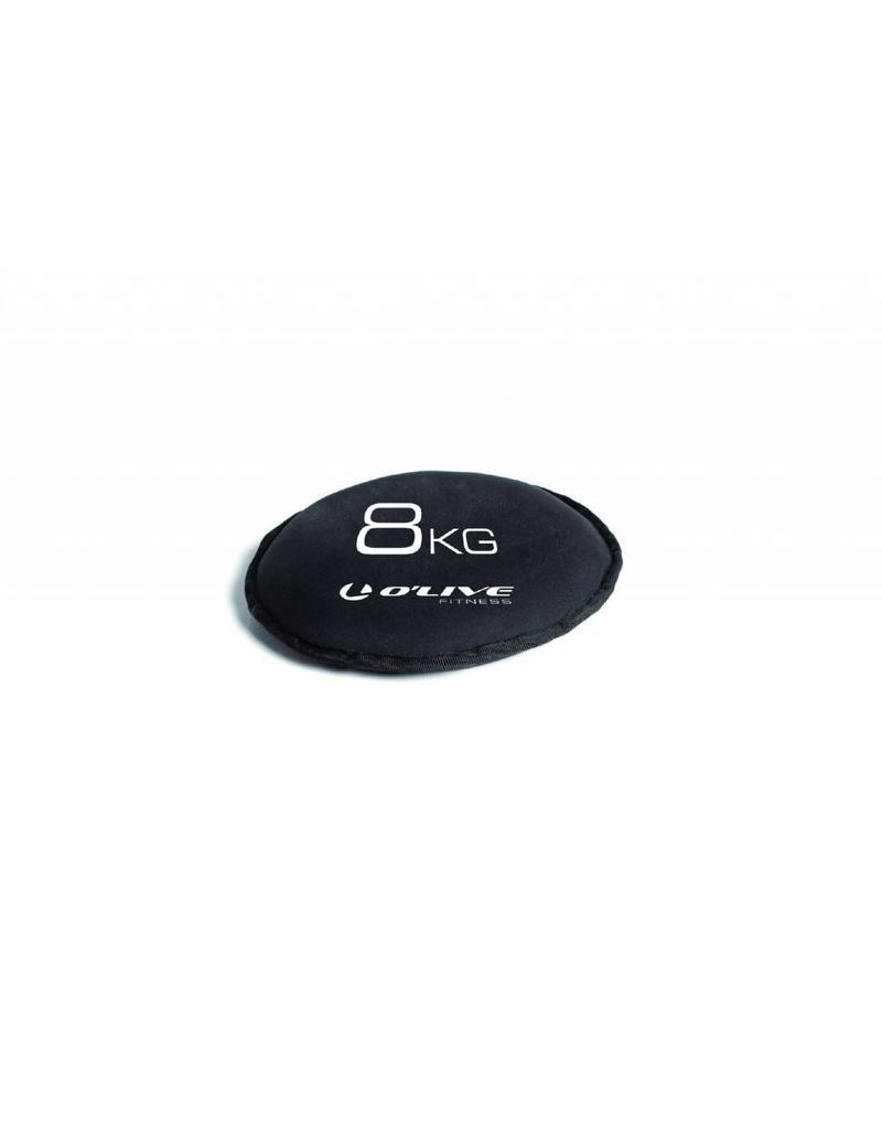 O'LIVE FITNESS O'LIVE SAND DISK 6kg Black