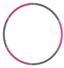 FITNESS MAD Hula Hoop 100 cm (1.1Kg) Grijs Roze