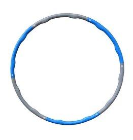 FITNESS MAD Wave Hula Hoop 100 cm (2.0Kg) Grey Blue