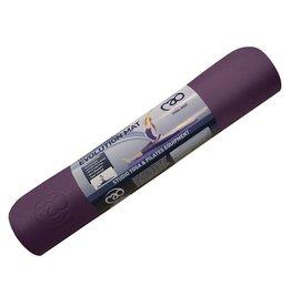 FITNESS MAD Tapis de Yoga 6mm Evolution Yoga Mat Plus aubergine/gris