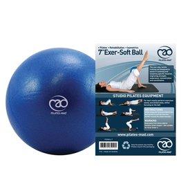 FITNESS MAD Exer-Soft Pilates Coach Balance Ball 7 inch (18cm) Rondo bal anti-slip Blauw