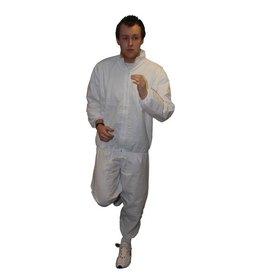 FITNESS MAD Sauna Suit PU (PVC vrij) size L/XL white