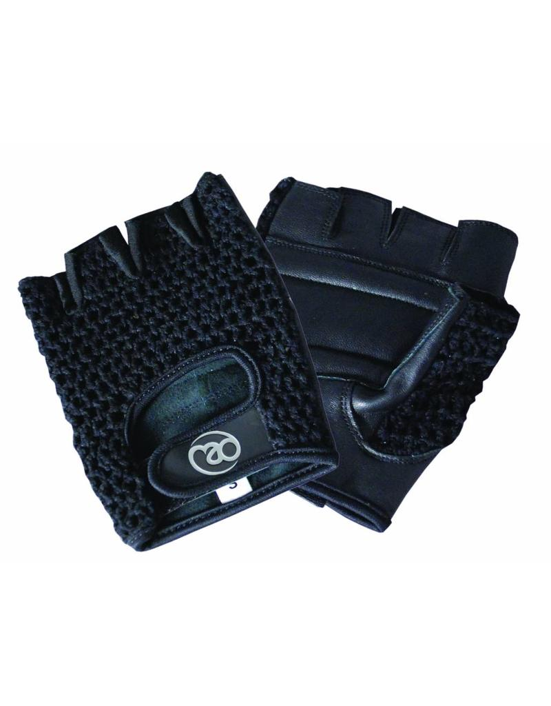 FITNESS MAD Mesh Fitness Glove Maat SM Small Medium Zwart