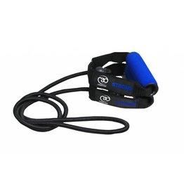 FITNESS MAD Resistance Tube Level 3 Strong 130 cm Rubber Nylon Black-dark blue