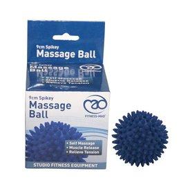 FITNESS MAD Spikey Massage Ball Large 9cm blauw