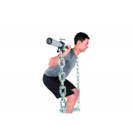 O'LIVE FITNESS O'LIVE LIFTING CHAINS 12 kg PAIR 180 cm incl clip