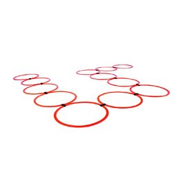 O'LIVE FITNESS O'LIVE AGILITY RING LADDER 12 ring