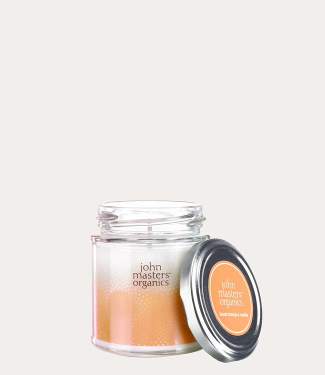 blood orange & vanille soy wax candle