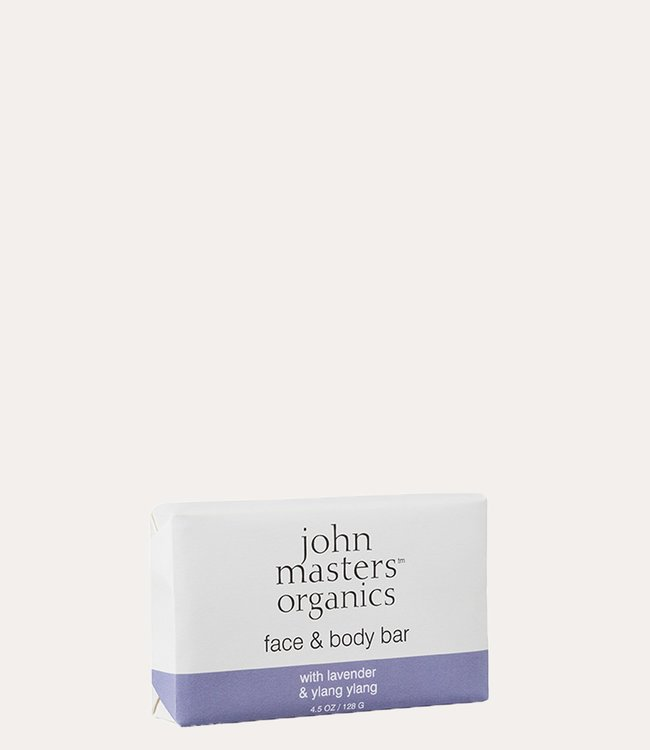 John Masters Organics Face & Body Bar with Lavender & Ylang Ylang
