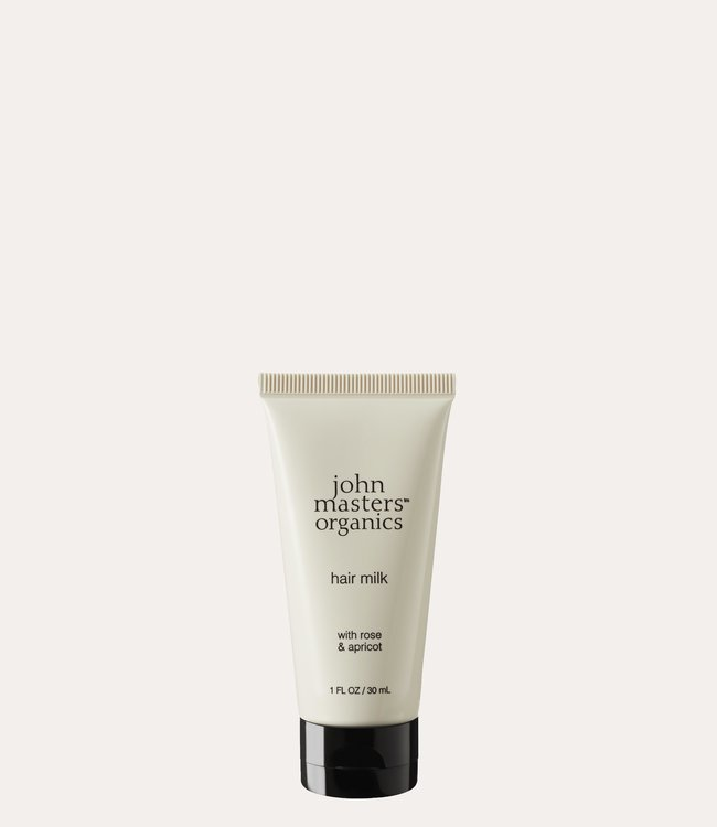 John Masters Organics Hair Milk with Rose & Apricot mini