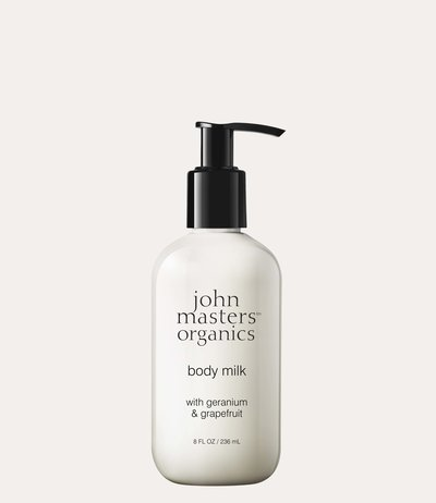 John Masters Organics Body Milk  with Geranium & Grapefruit