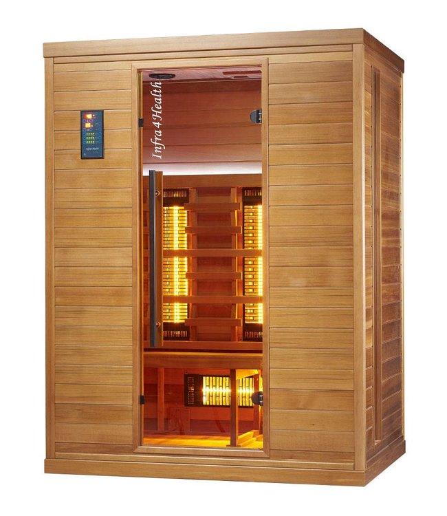 Infra4Health I150 trois personnes cabine infrarouge- infra4health