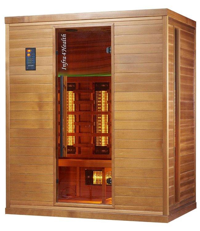 Infra4Health infrarood sauna I170 4 persoons - infra4health