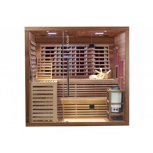 Infra4Health infrarood sauna combi 6 personen - infra4health