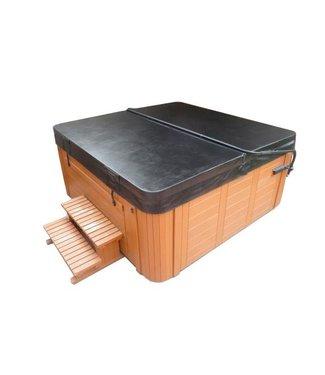 SpaGoedkoop.be 160 x 215 cm Spa / Jacuzzi cover bruin